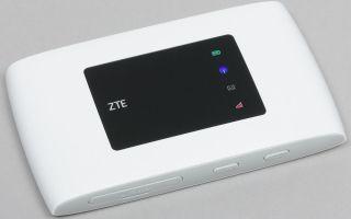 Мобильный 4G-роутера ZTE MF920RU: обзор